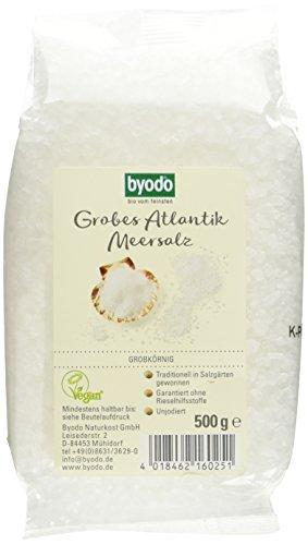 Byodo Grobes Atlantik Meersalz, 7er Pack (7 x 500 g)