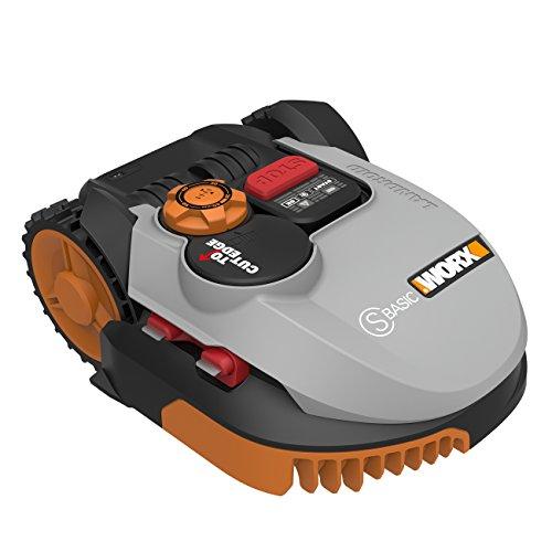 Worx Landroid S-Basic - Robot cortacésped automático para