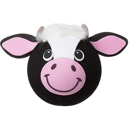 Tenna Tops Cute Cow Antenna Topper/Antenna Ball/Mirror Dangler/Desktop Spring Stand