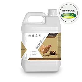Verm-X 100% Natural Liquid for all Poultry. SupportsIntestinal Hygiene. Vet Approved. UFAS Assured. ContainsPrebiotic for Gut Biome Quality.Restores and Maintains Gut Vitality. Wormwood Free Recipe