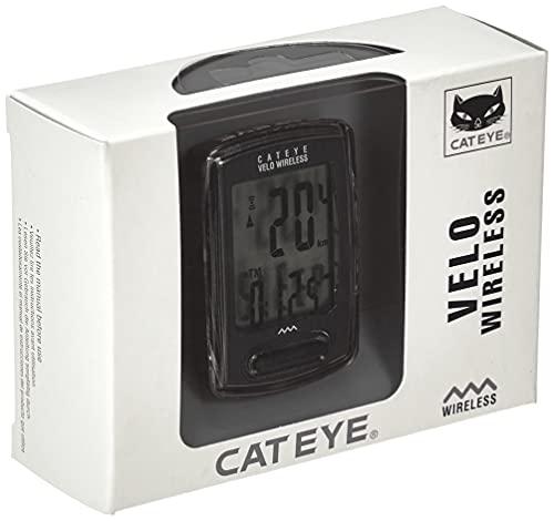 CatEye Velo Wireless-CC-VT230W Fahrradcomputer, Schwarz
