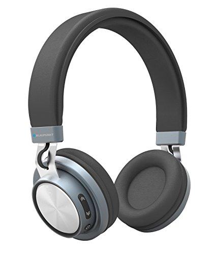 Blaupunkt BLP4100 - Kopfhörer (Kopfband, Kabellos, Bluetooth, 20-200 Hz, 257 g, Schwarz)