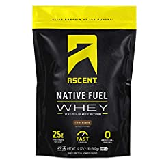 Made with native whey, the least-processed whey protein available today Zero artificial ingredients Rapidly digesting protein – perfect for taking after your workout 25g protein per scoop, 5.7g of naturally occurring BCAAs, and a clean, minimal ingre...
