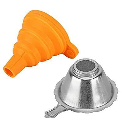 Mxtech 3D Printer Funnel, 3D Printer Filter, 3D Printer Photosensitive Resin Filter 3D Printer Curing Filter, for SLA DLP for Resin SLA/Dlp Accessories