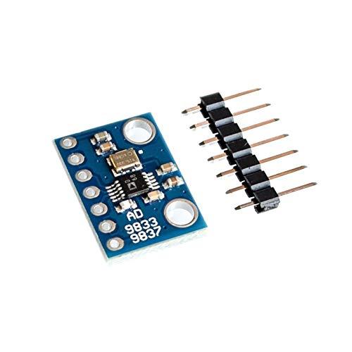 ZJF Componentes de la computadora Accesorios eléctrico 1 0PCS / Lot AD9833 Microprocesadores programables Módulo de Interfaz Serial SINE SIGE Wave DDS Módulo generador de señales