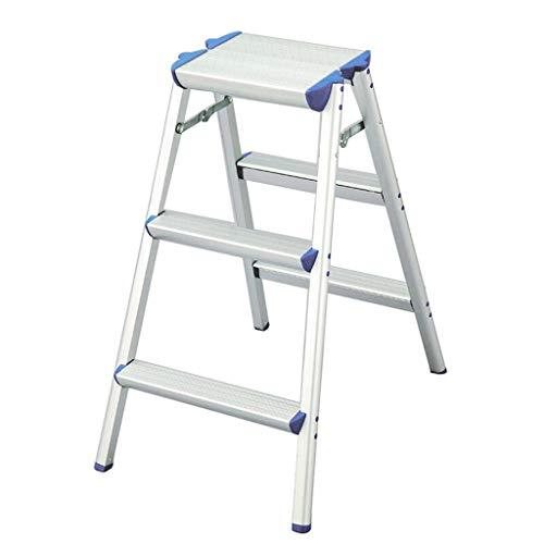 AA-stair bench LTDE Step Stool Step Stool, Folding Ladder, Wide Pedal, Step Stool, Step Stool (Dimensioni: b)
