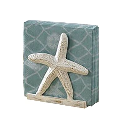 Tropical Nautical Starfish Lunch Napkin Holder