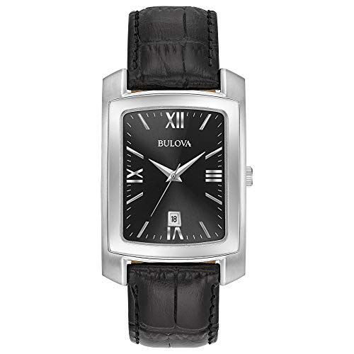 Bulova Men's Stainless Steel Analog-Quartz...