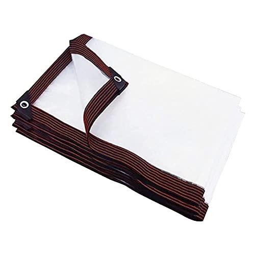 JLVAWIN Lona multifuncional de la cubierta de la calidad, lona impermeable al aire libre, cubierta de los muebles del jardín, lona plástica de la tienda del PE con los ojales, grueso 0.45mm-2m*5m