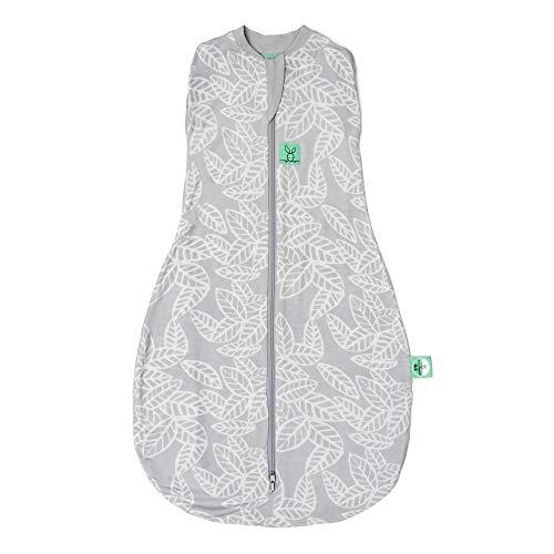 ergoPouch Cocoon, Sommerschlafsack Baby, Pucksack Baby, Schlafsack, Sommer, Bio-Baumwolle - Tog 0.2 - weiß - 3-12 Monate