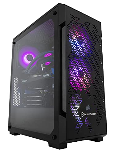 PCSpecialist PC Gaming - Intel® Core™ i5-10400F 2,90 GHz 6-Core, 16 GB RAM, AMD Radeon RX 6600 XT 8 GB, 1 TB M.2 SSD