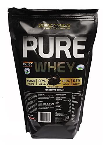 PURE WHEY - Proteine del siero del latte isolate e concentrate 1 KG (Cioccotella)