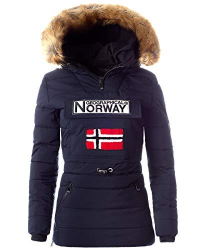 Geographical Norway Chaqueta cortavientos para mujer.