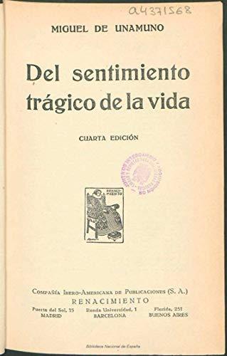 Del sentimiento trágico de la vida (Spanish Edition)