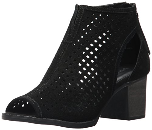 Dirty Laundry by Chinese Laundry Women's Tessa Ankle Boot, Black Split Suede, 6.5 M US