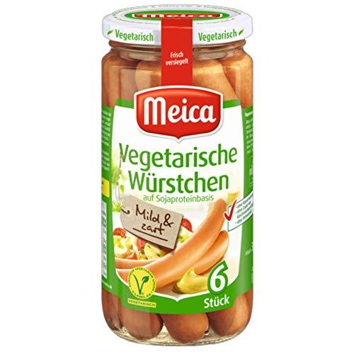 Meica vegetarische Würstchen (200g Glas)