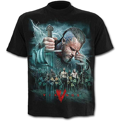 Spiral Direct, Camiseta para Hombre, Negro (Schwarz), Medium