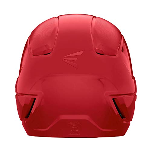 Easton Unisex's ALPHA Fastpitch Softball Batting Helmet with Mask Baseball Protective, Red, M/L