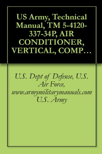 US Army, Technical Manual, TM 5-4120-337-34P, AIR CONDITIONER, VERTICAL, COMPACT, SELF-CONTAINED, AI...