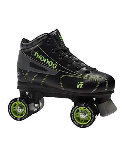 KRF The New Urban Concept Des Krf Patin C Espec Chronos Botas Hockey y Patinaje sobre Ruedas, Adultos Unisex, Multicolor (Gris/Verde), 42