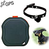 Mini localisateur/tracker GPS - Avec Google Map - Pour enfants, animaux domestiques (chiens), voiture, véhicule - Accessoire de localisation personnel avec alarme SOS - TK1000