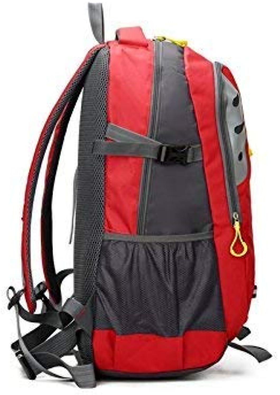 AGOPO Outdoor und Indoor 45L Sport Outdoor Rucksack Wasserdichte Kletterwand Wandern Camping Rucksack (Rot) Wanderrucksack B07MRLLMW2  Saisonaler heißer Verkauf