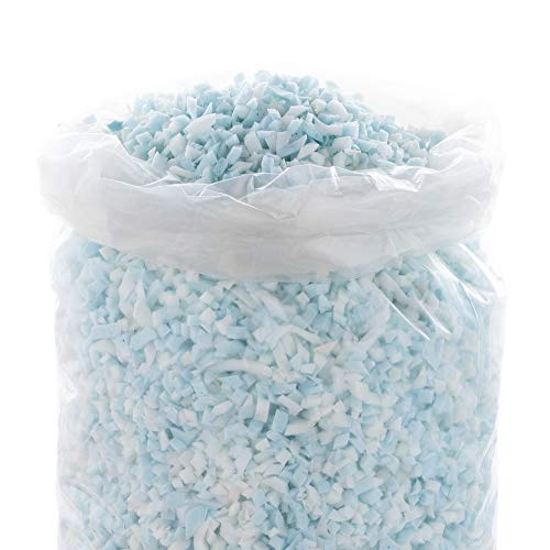 Linenspa Shredded Memory Foam - Craft Foam - Replacement Fill for Pillows, Bean Bags, Chairs, Dog Beds, Stuffed Animals, and Crafts, 2.5 Lbs
