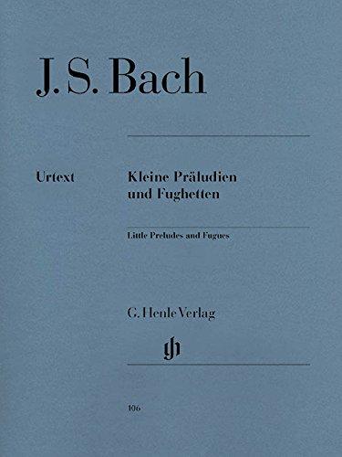 Kleine Präludien + Fughetten. Klavier