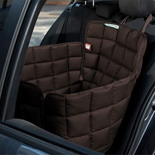 Doctor Bark Hunde 1-Sitz-Autoschondecke für die Rücksitzbank, All-Side Schutz mit...
