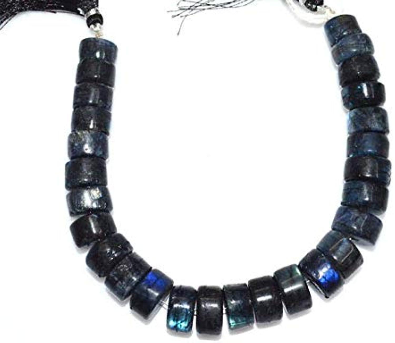 tienda de ventas outlet Jewel Beads Gems-Jewellery Brand New Labradorite Smooth Smooth Smooth Tyre Beads, Labradorite Tyre Rondelle, Tyre Beads, Rare Item, Sold by Strand, Rare Item, 10-14 mm, 8   compras en linea