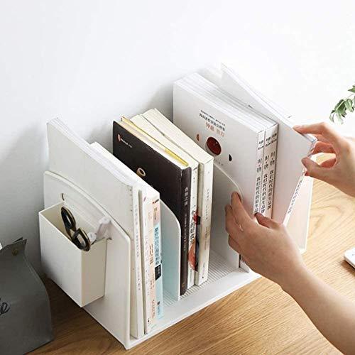 Lszdp-negozio Desktop Bookshelf Office Document Holder Storage Rack Desktop Storage Box Archief opslag Rack Multifunctionele