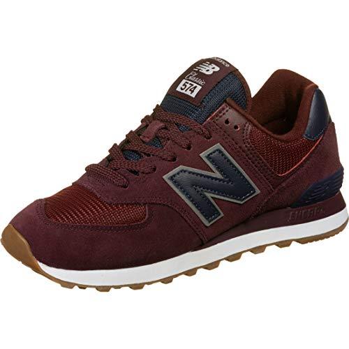 New Balance 574v2, Sneaker Uomo, Rosso (Red/Navy Spq), 42.5 EU