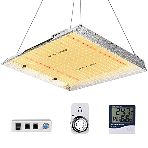 MARS HYDRO TSW 2000 Led Grow Light 300 Watt 4x4ft Coverage Full Spectrum Growing Lamps for Indoor Plants Dimmable Daisy Chain Seeding Veg Bloom Light for Hydroponics Greenhouse Indoor LED Grow