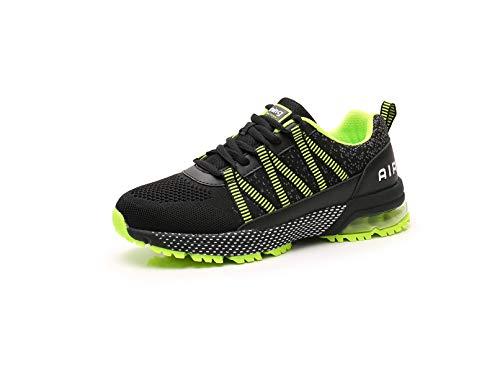 Monrinda Sneakers Uomo Donna Scarpe Sportive Cuscino d'Aria Scarpe da Corsa Moda Tempo Libero...