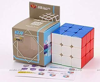 مكعب روي لونج من واي جي بالوان زاهية وبدون ملصقات بابعاد 3x3