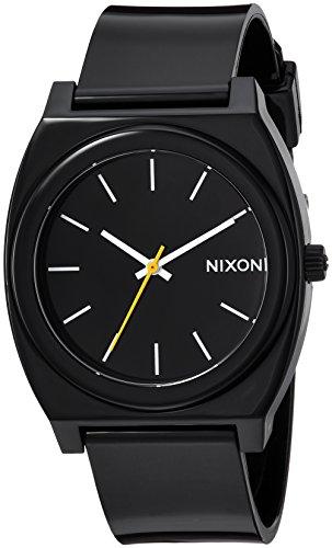 Nixon Women's A119000 Time Teller P Analog Display Japanese Quartz Black Watch