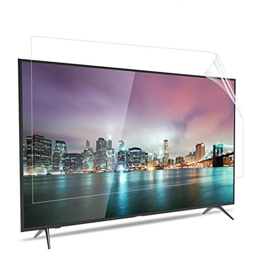 ZXYWW Protezione per Schermo TV da 32-55 Pollici, Proteggi Schermo Anti-Luce Blu/Anti Graffio: Filtra La Luce Blu E Riduce L'affaticamento Visivo,32inch/704 * 395mm