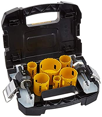 DEWALT D180002 Standard Electricians Bi-Metal Hole Saw Kit from Dewalt