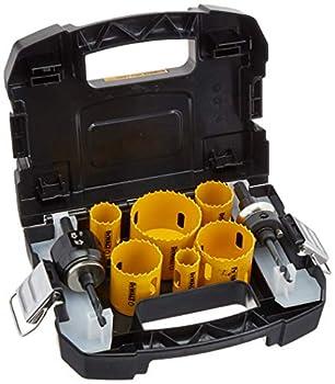 DEWALT Hole Saw Kit Standard Electrician s Set Bi-Metal  D180002