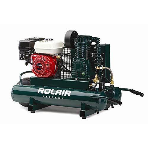 Rol-Air Air Compressor GX200 Honda 9 GAL #6590HK18