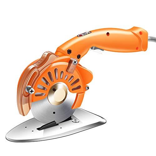 TOPQSC - Cortador de tejido eléctrico, 200 W, mini cortatelas eléctrico, cortatelas...