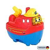 Vtech 80-187074 Tut Tut Baby Badewelt Feuerlöschboot Badespielzeug, Mehrfarbig