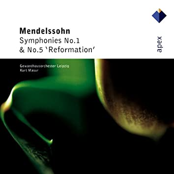 Mendelssohn : Symphonies Nos 1 & 5  -  Apex