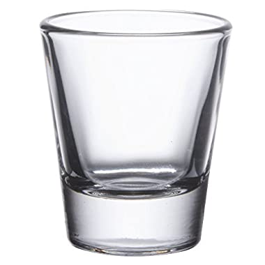 Gmark 1.5-Ounce Heavy Base Shot Glass Set, Whiskey Shot Glass 12-Pack GM2011