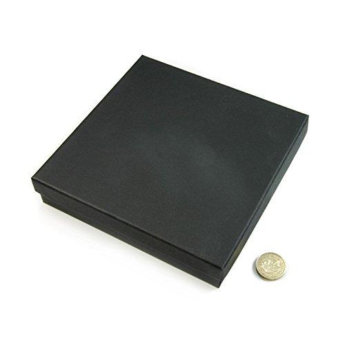 Boîte carrée – Collier Femme – Noir 158 x 158 x 32 mm Qté 1