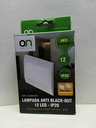 LAMPADA ANTI BLACK-OUT 12 LED - IP20 (installazione su supporto 503) - GBC 38800430