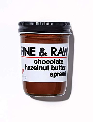 Fine & Raw Hazelnut Butter Spread 8 Ounce – Clean Ingredients, Vegan, and Organic Hazelnut Spread...