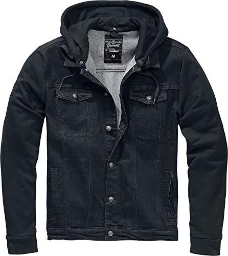 Brandit Sweat-Shirt zippé à Capuche Noir L
