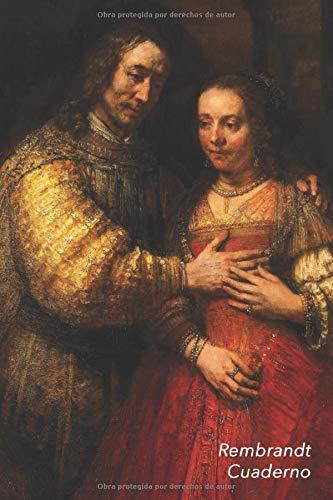 Rembrandt Cuaderno: La novia judía   Ideal para la Escuela, el Estudio, Recetas o Contraseñas   Perfecto Para Tomar Notas   Diario Elegante