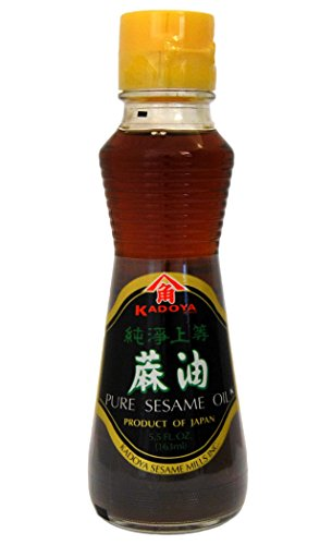 KADOYA - Pure Huile De Sesame Japonaise 1x163ml - Import Japon